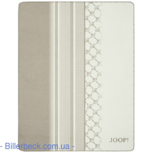 Плед JOOP! CF STRIPES Ecru-Feder 150х200 (Германия) - 2