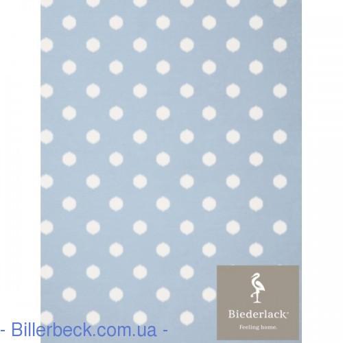 Плед Детский Biederlack Lovely&Sweet Dots blue - 1