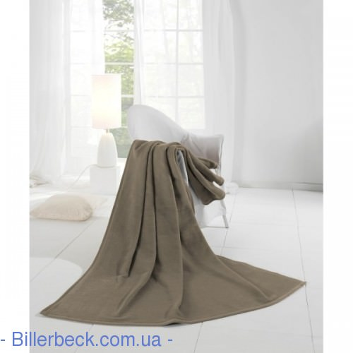 Плед Cotton Home4 taupe 150х200 (Германия) - 1