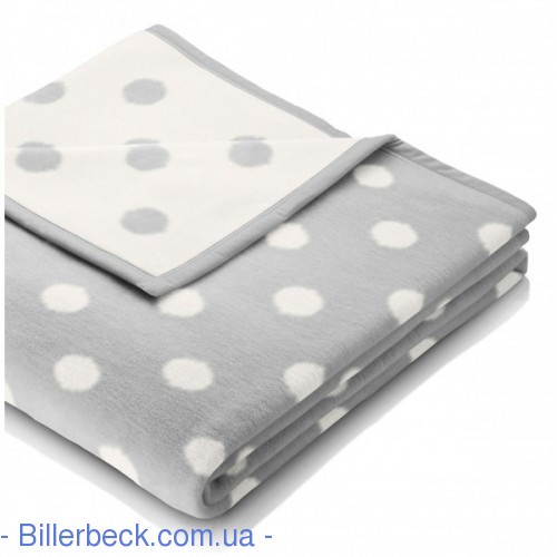 Плед Детский Biederlack Lovely&Sweet Dots silver - 2