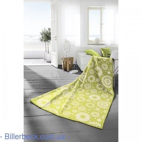 Плед Colour Cotton Flores lima 150х200 (Германия) - 1