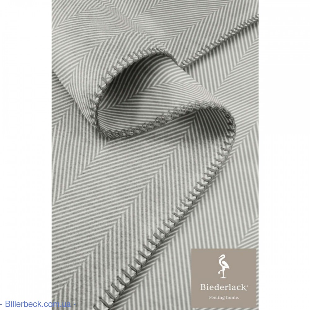 Плед Contrast&Style Herringb. grey 150х200 694195 (Германия) - 1