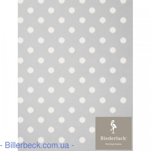 Плед Детский Biederlack Lovely&Sweet Dots silver - 1