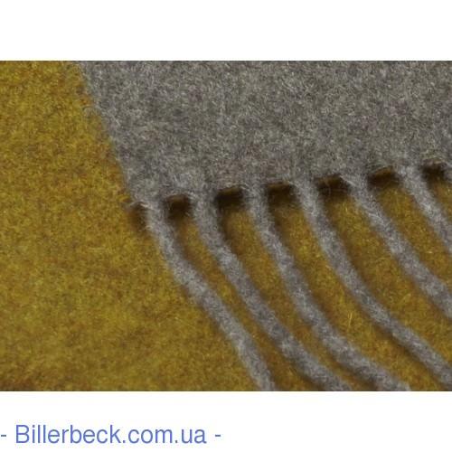 Плед Dark Velvet ocker-grau 130х170 (Италия) - 2