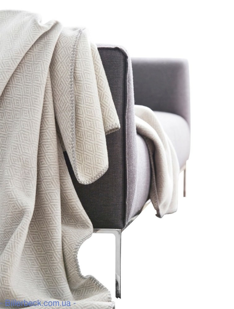 Плед Contrast&Style Two Tone grey 150х200 694164 (Германия) - 2