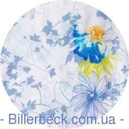 Двуспальный евро комплект Симфония Лазурь (Биллербек) - 1