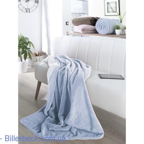 Плед Pure soft graublau - 1