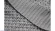 Плед Wohndecke Knit grey 130х170 (Германия) 1