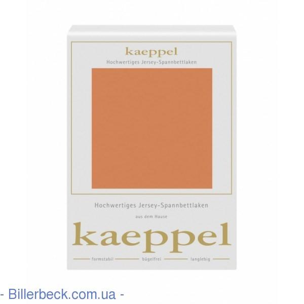 Трикотажная простынь мандарин на резинке KAEPPEL (Германия)