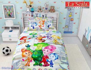 Комплект Постельного Белья Детский La Scala КF-04