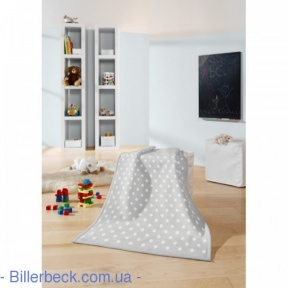 Плед Детский Biederlack Lovely&Sweet Dots silver