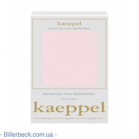 Светло-розовая трикотажная простынь KAEPPEL (Германия)
