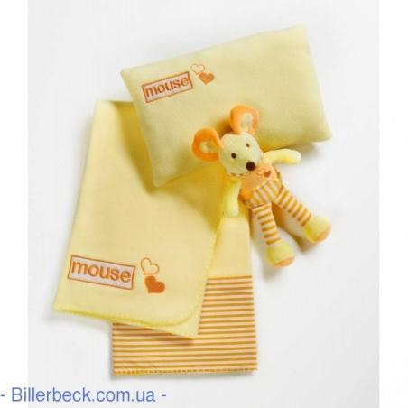 Плед детский (набор) Bocasa Мышонок (Германия)
