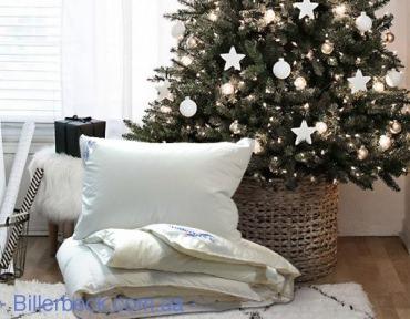 Комплект: Пуховое одеяло Магнолия 200х220 К-1 + подушка пух Жасмин 50х70