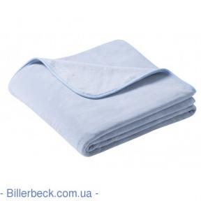 Плед Pure soft graublau