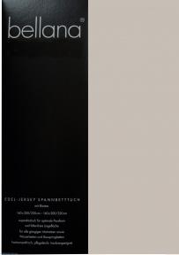 Трикотажная простынь на резинке DELUXE