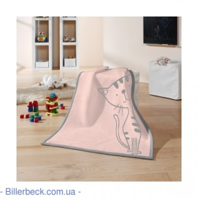 Плед Детский BIEDERLACK LOVELY&SWEET KITTY ROSE
