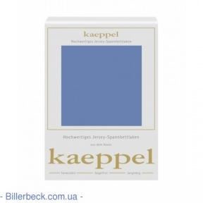 Трикотажная простынь (стальной синий) на резинке KAEPPEL (Германия)