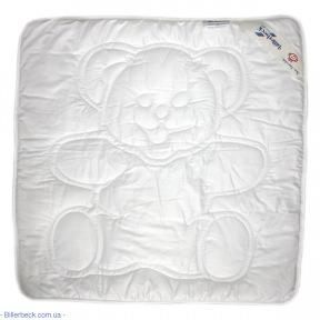 Детское одеяло Teddy white (эвкалиптовое) облегченное