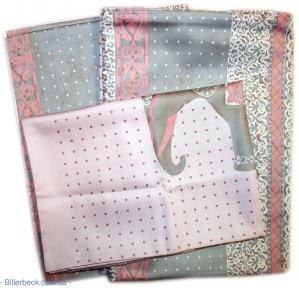 Постельное белье Слон на розовом Billerbeck