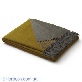 Плед Dark Velvet ocker-grau 130х170 (Италия)