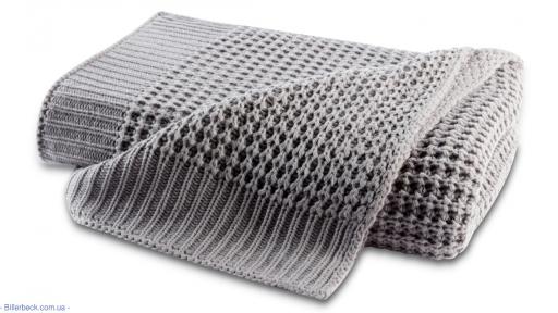 Плед Wohndecke Knit grey 130х170 (Германия)